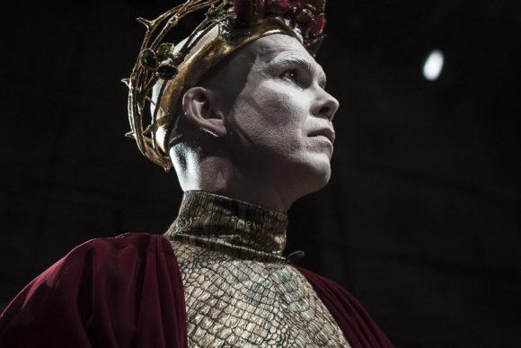 Druid Image - Marty Rea as Richard II in DruidShakespeare photo by Matthew Thompson